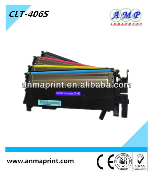 CLT-406S Series toner cartridge Compatible cartridge toner for Samsung toner cartridge CLP-360/365/366/368 CLX-3300/3305/3306/3