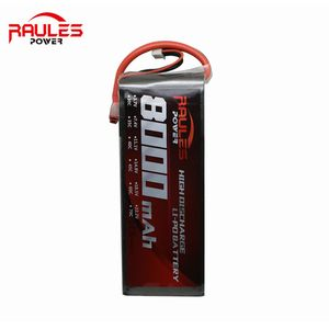 High quality RC 22.2v 60c 6s 8000 mah lipo battery