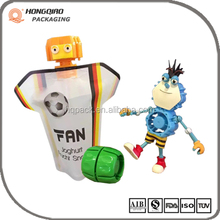 Quality Supplier China Spout Pouch for Yogurt Juice with Toy Cap