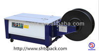 shanghai Low Table JK 740L semi auto dvd plastic wrapping machine