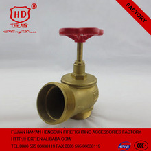 Samll Size Indoor Fire Valve Brass Material Fire Angle Valve