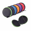 Round Shape Hard EVA case custom eva foam cases For Earbuds Headphone Headset