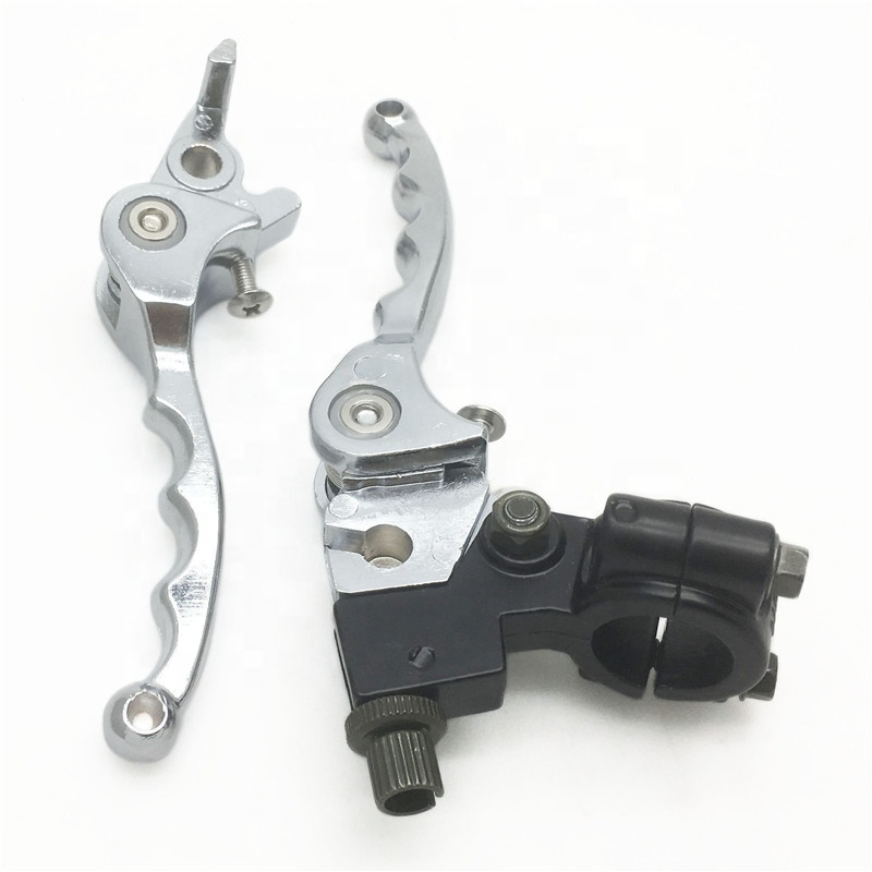 Pitbike Hydraulic Snap Fold Back Brake And Clutch Lever Set