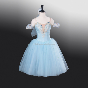 New !!!! Bly1262 !!! Adult Light Blue Romantic Elegant Competition ...