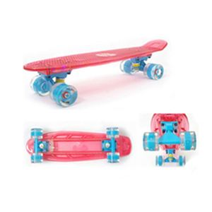 new led plastic and parts longboard skateboard