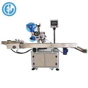 Automatic Plastic Bags Labeling Machine With Conveyor Belt ,Flat Paging Labeling Machine