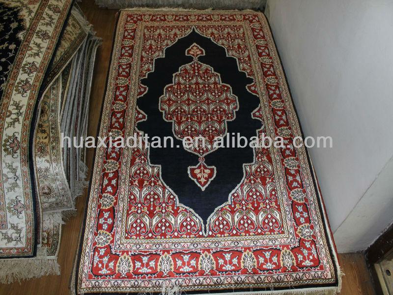 Manmade Silk Rugs Handmadeiranian Handmade Modern