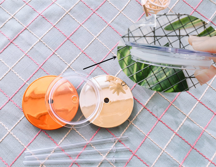 new fashion summer plastic sports water botters with straw