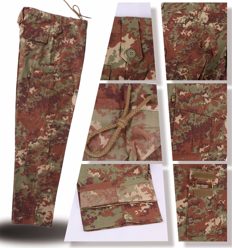 camouflage breathable custom military band uniform