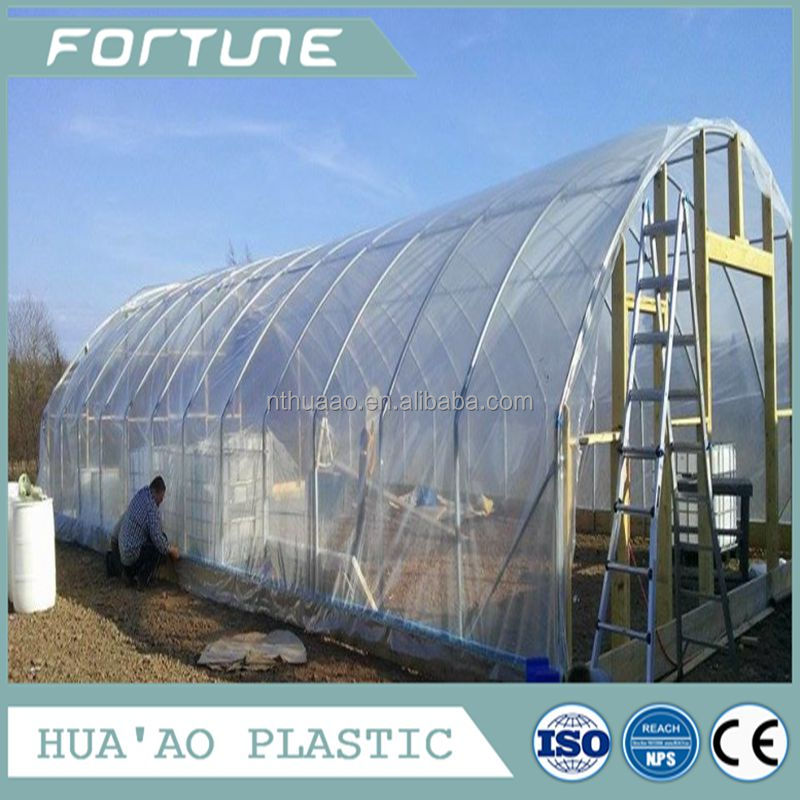 Water proof pvc super transparent greenhouse plastic cover
