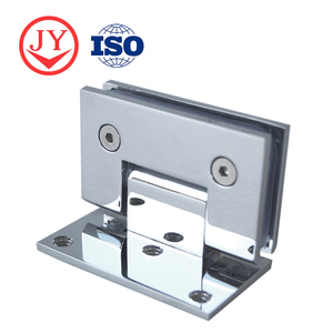 Competitive Price Stainless Steel Frameless Tempered Curved Glass Shower Door Hinge