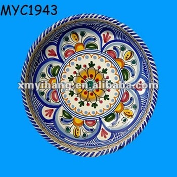 Hot Spanish heat printing ceramic customized dinner plates  sc 1 st  Alibaba : dinner plate printing - Pezcame.Com