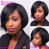 Natural looking cute short hair wigs wommen short wigs brazilian human short hair wigs