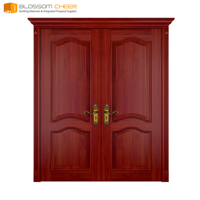 Buy Cheap China exterior wood door double door Products, Find China ...