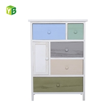 Mdf Nc Paint Creative Design Factory Price Under Table Desk Wooden Drawer
