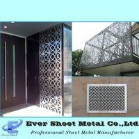 custom design thin sheet metal products,decorative laser cut metal panels