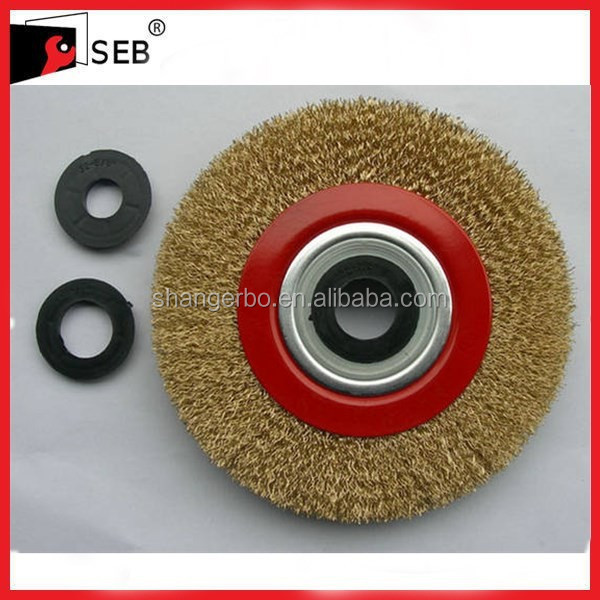 circular wire brush for oil&gas projects