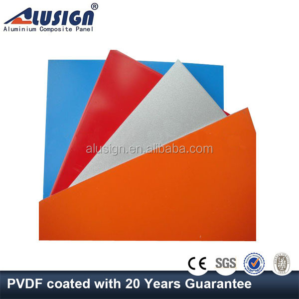 Alusign saudi arabia manufacturer sandwich panel tailored by needs acp sheet for wall decorative