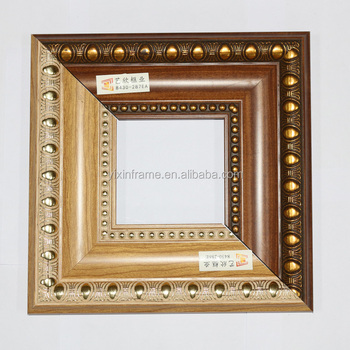 Wide Distressed Wall Photo Frame Hand Painted For Wedding Frame