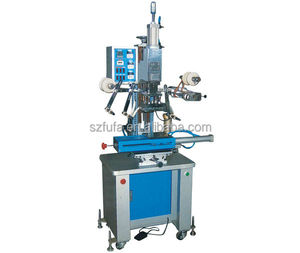 Automatic leather logi embossed hot stamping machine for sale