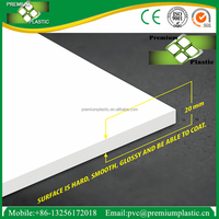 China factory 20mm thickness high density 4x8 partition board pvc foam sheet