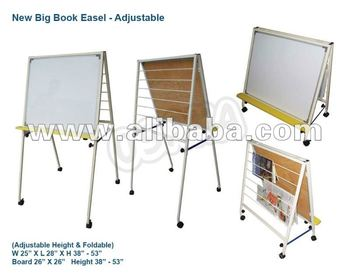 big book easel with whiteboard