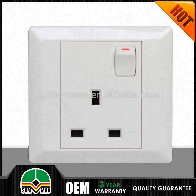 Luxury housing cooker switch with socket