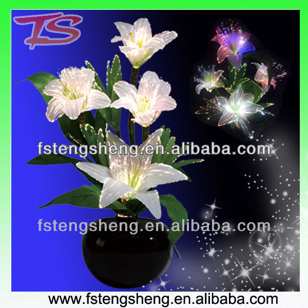Artificial Tiger Lily Flower With Led Light