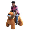 Electric lion rides kids electric ride on lion walking animal battery loin ride on car