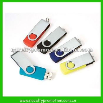 Custom cheap swivel USB flash drive