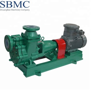 China factory supply horizontal PTFE lined selfpriming centrifugal pumps