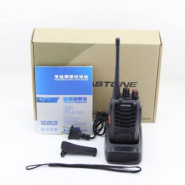 ZT-V68 similiar BAOFENG 888S UHF Frequency Zastone Portable FM Radio Cheap Walkie Talkie