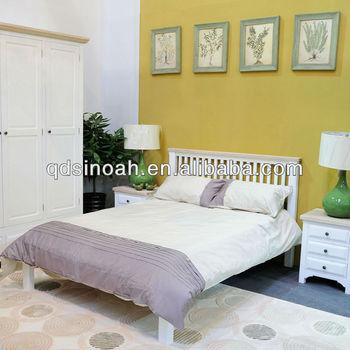 Sinoah 318 Pino Blanco Pintado Muebles De Dormitorio Juegos - Buy ...