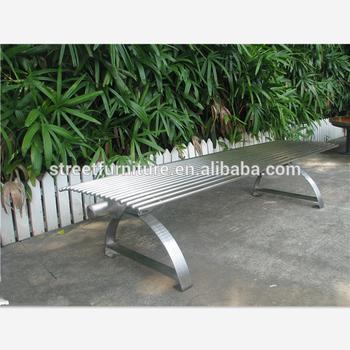 Miraculous Modern Backless Metal Outdoor Stainless Steel Park Benches Buy Outdoor Stainless Steel Benches Metal Park Bench Modern Park Bench Product On Alphanode Cool Chair Designs And Ideas Alphanodeonline