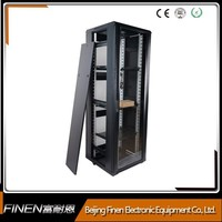 Free standing top selling network switches rack cabinet 18u - 42u for data centre