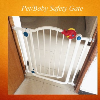 New Products Baby / Adjustable Child Safety Gate/ Iron Sliding Door Dog Gate  CLXY