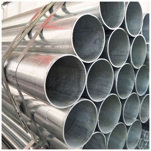 Hot sale prime quality ASTM BS EN DIN JIS GB standard hot dip galvanized rond structure steel tube