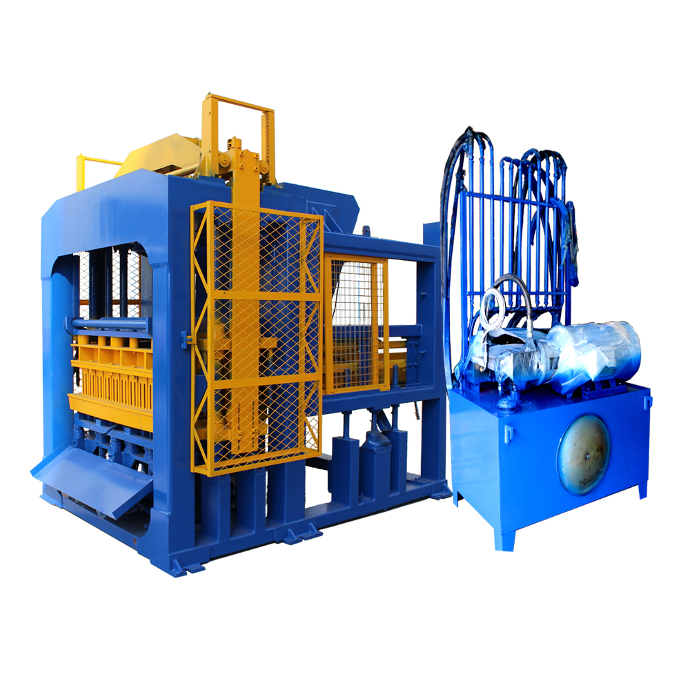 QT6A-15 automatic brick machine for solid -Multi-hole block making sale