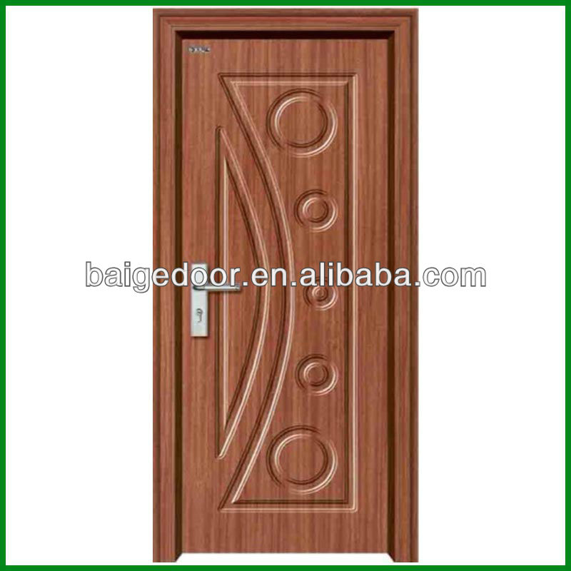 Simple wooden door designs images for Minimalist door design