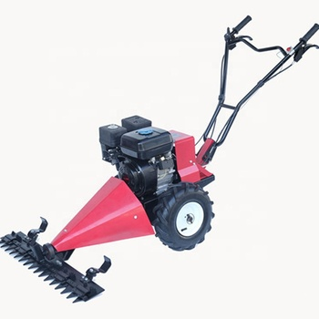 Farm 6.5hp walk behind tractor grass cutting machine