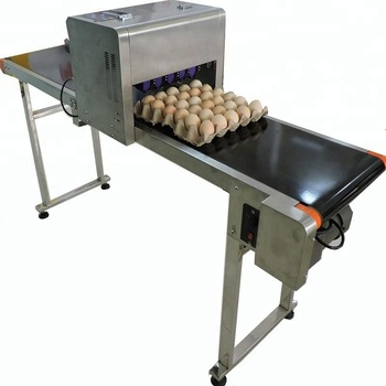 Popular selling 6 nozzle easy operation egg printing machine