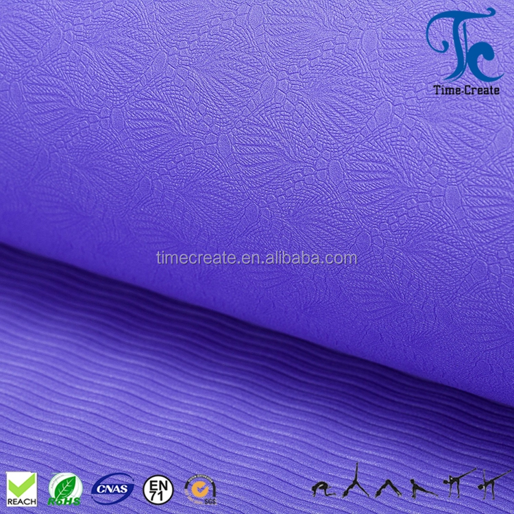 Anti slip better elasticity tear growth resistance 3,4,5,6mm TPE yoga mat for shape and fitness