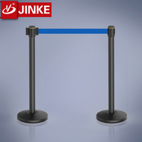 Queue Line Management Equipment Used In Casinos Crowd Control Stanchions