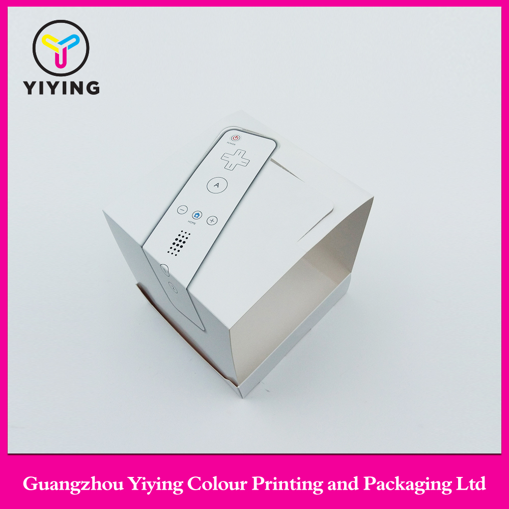 2017 custom design print paper display box carton box