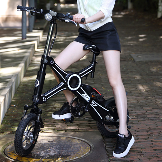 Factory outlets 36v 250w 8.7ah foldable portable Electric Bike e bicycle