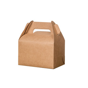 Kraft paper printing gift packaging mini bakery boxes for cupcakes