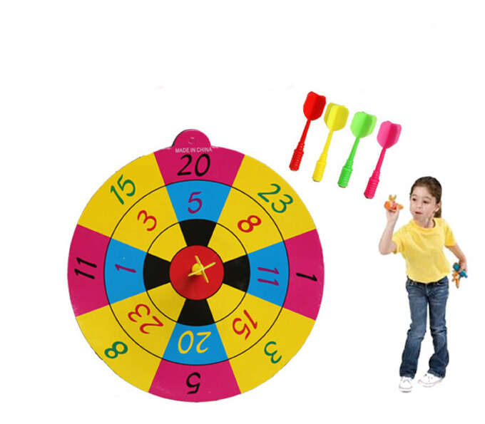 Children Playing Darts