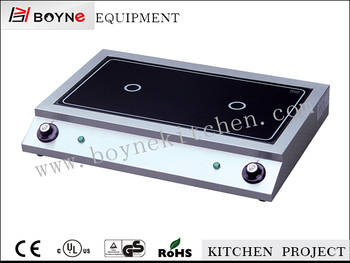 2017 Wholesale 2 Head Electric Built In Induction Hob Stock
