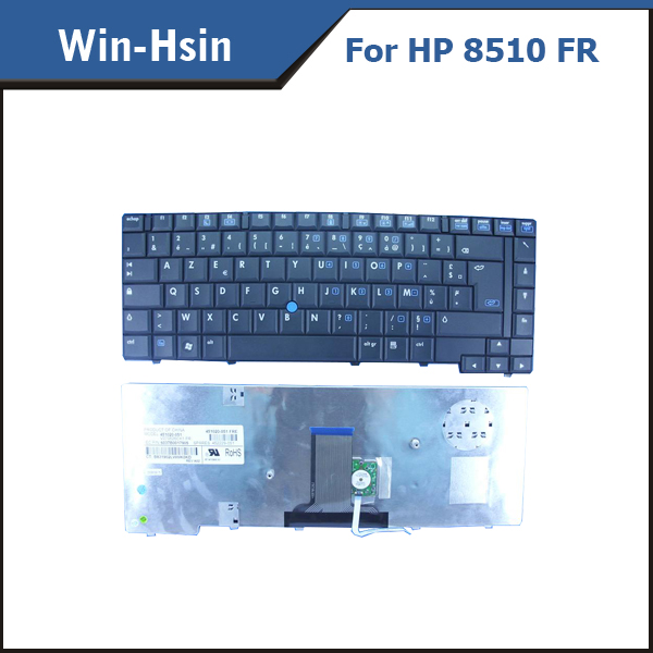 AZERTY FR keyboard for HP 8510w 8510p 451020-051 V070526CK1