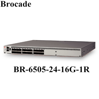 24x 16gb Port Fiber Channel Switch Tae Brocade Br-6505-24-16g-1r 6505 - Buy  24x 16gb Port,Fiber Channel Switch,Br-6505-24-16g-1r Product on